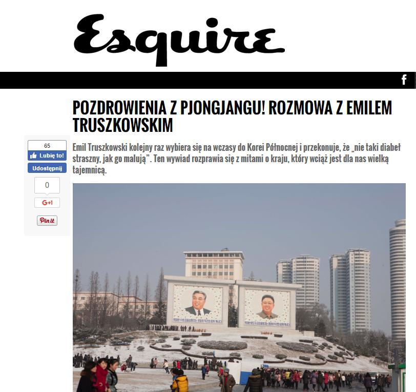 Esquire wywiad